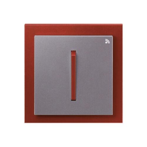 Enika P8 T 2 Neo 71 Acél szürke / Terrakotta felületre szerelhető jeladó (1043532)