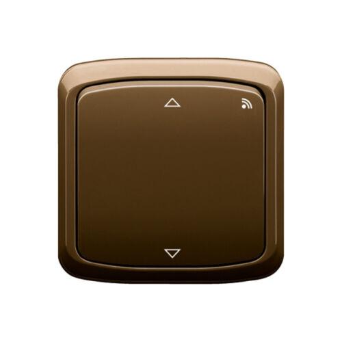 Enika P8 R R Tango H Sötét barna falba süllyesztett vevő redőnymozgatáshoz (1043678)