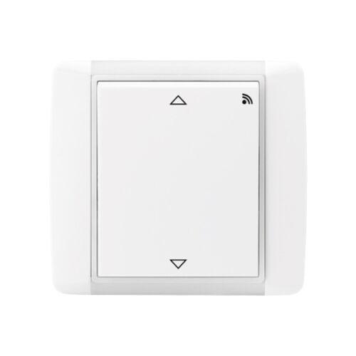 Enika P8 R R Element 03 Fehér falba süllyesztett vevő redőnymozgatáshoz (1043685)