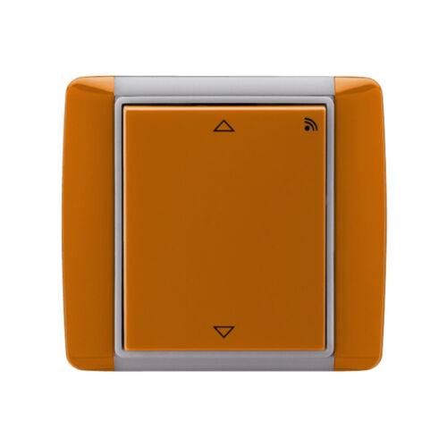 Enika P8 R R Element 07 Karamell falba süllyesztett vevő redőnymozgatáshoz (1043689)