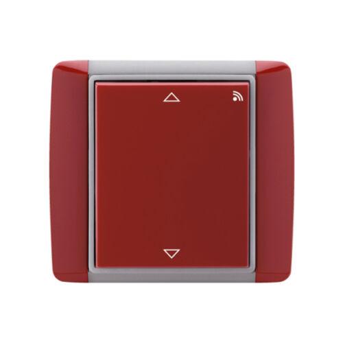 Enika P8 R R Element 24 Kármin vörös falba süllyesztett vevő redőnymozgatáshoz (1043692)