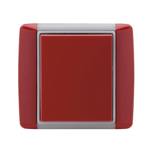 Enika P8 R 1 Element 24 Kármin vörös falba süllyesztett vevő (1043714)
