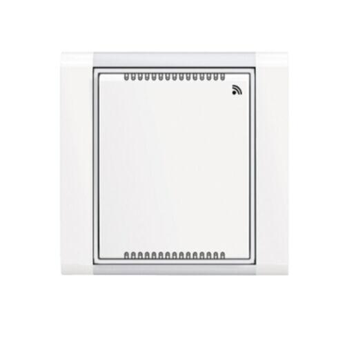 Enika P8 T Temp/RH Time 01 Fehér hőmérséklet és páratartalom érzékelő (1046320)