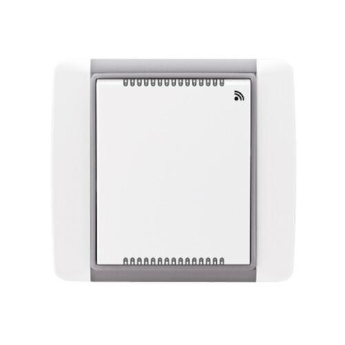 Enika P8 T Temp/RH Element 04 Jég szürke hőmérséklet és páratartalom érzékelő (1046326)