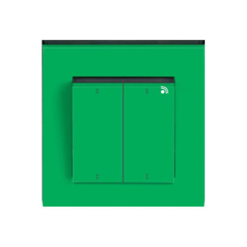 Enika P8 T 4 Levit 67 Zöld / Fekete felületre szerelhető jeladó (1049621)