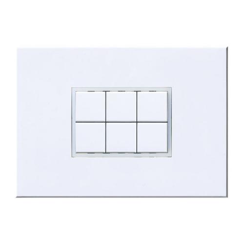 Enika P8 T 6 MR 03 Fehér Hatcsatornás felületre szerelhető jeladó (1100489)