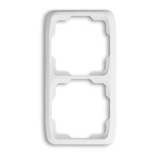 ABB kapcsoló keret 2-es függőleges Tango Fehér (3901A-B21 B)