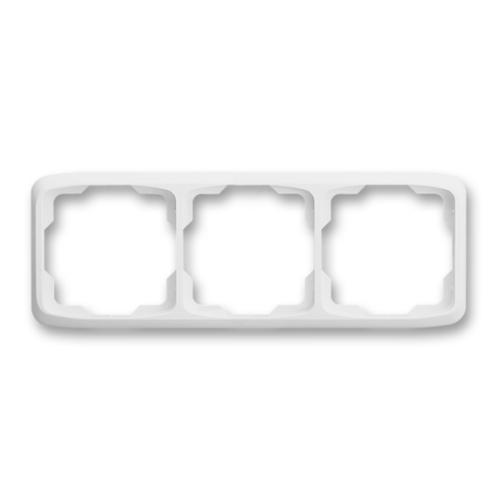 ABB kapcsoló keret 3-as vízszintes Tango Fehér (3901A-B30 B)