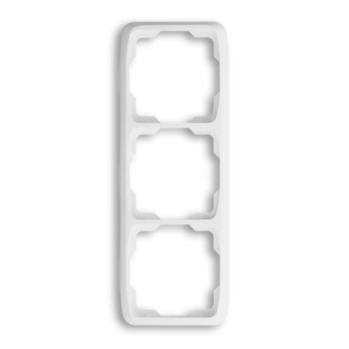 ABB kapcsoló keret 3-as függőleges Tango Fehér (3901A-B31 B)