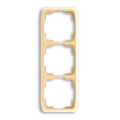 ABB kapcsoló keret 3-as függőleges Tango Bézs (3901A-B31 D)