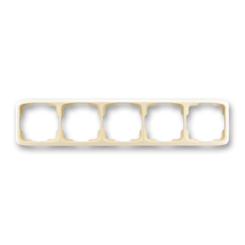 ABB kapcsoló keret 5-ös vízszintes Tango Csontfehér (3901A-B50 C)