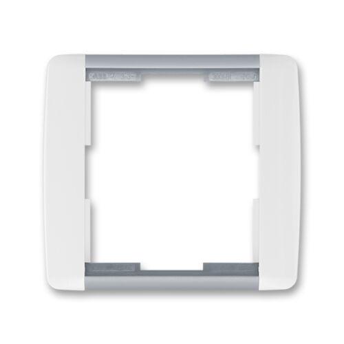 ABB kapcsoló keret 1-es Element Fehér / Hideg szürke (3901E-A00110 04)