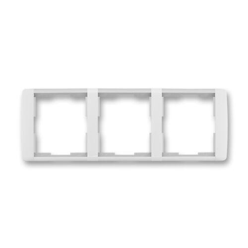 ABB kapcsoló keret 3-as vízszintes Element Fehér / Jégfehér (3901E-A00130 01)