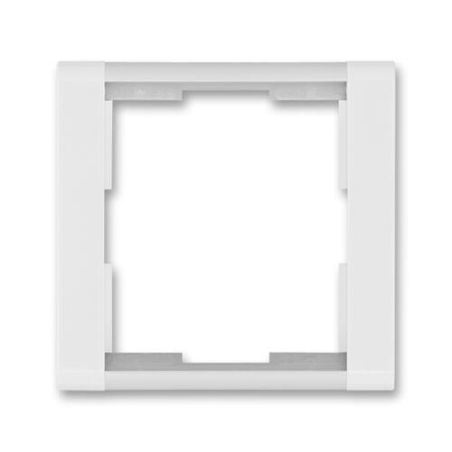 ABB kapcsoló keret 1-es Time Fehér / Jégfehér (3901F-A00110 01)
