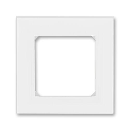 ABB kapcsoló keret 1-es Levit Fehér / Jégfehér (3901H-A05010 01)