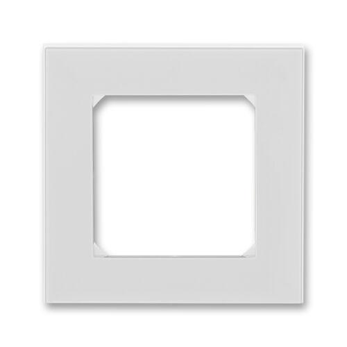 ABB kapcsoló keret 1-es Levit Szürke / Fehér (3901H-A05010 16)