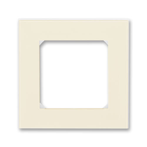 ABB kapcsoló keret 1-es Levit Csontfehér / Fehér (3901H-A05010 17)