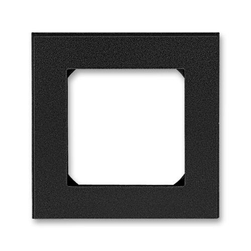 ABB kapcsoló keret 1-es Levit Onix / Fekete (3901H-A05010 63)