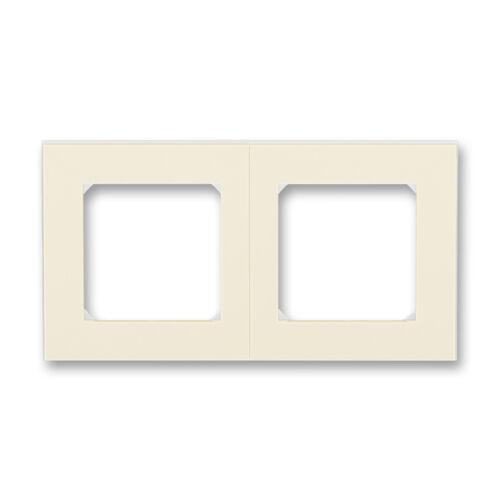 ABB kapcsoló keret 2-es Levit Csontfehér / Fehér (3901H-A05020 17)