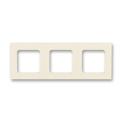 ABB kapcsoló keret 3-as Levit Csontfehér / Fehér (3901H-A05030 17)
