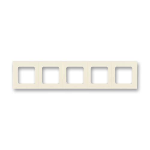 ABB kapcsoló keret 5-ös Levit Csontfehér / Fehér (3901H-A05050 17)