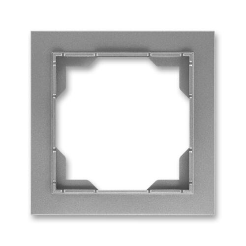 ABB kapcsoló keret 1-es Neo Acél szürke (3901M-A00110 36)