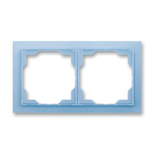 ABB kapcsoló keret 2-es vízszintes Neo Kék (3901M-A00120 41)