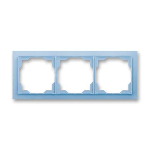 ABB kapcsoló keret 3-as vízszintes Neo Kék (3901M-A00130 41)
