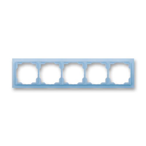 ABB kapcsoló keret 5-ös vízszintes Neo Kék (3901M-A00150 41)