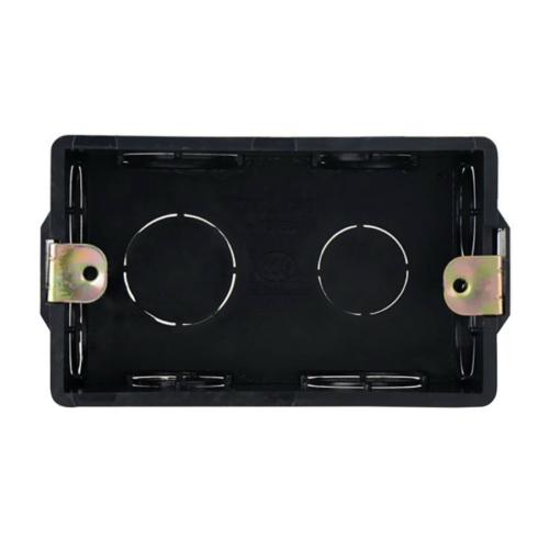 Hikvision DS-KAB118 műanyag szerelőkeret beltéri egységhez