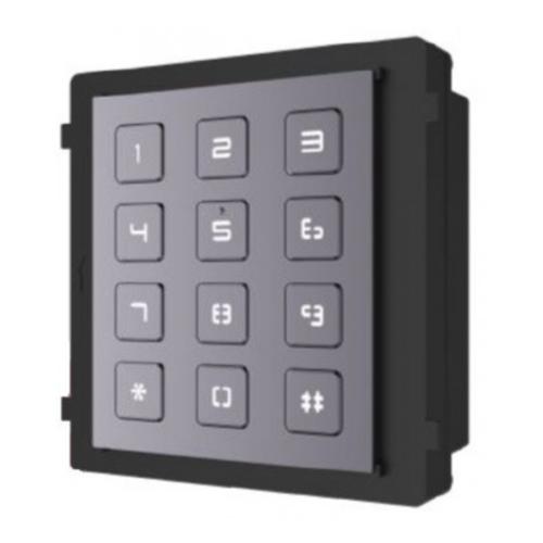 Hikvision DS-KD-KP társasházi IP videó-kaputelefon kültéri billentyűzet modulegység
