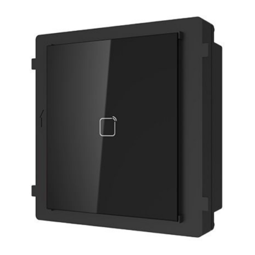 Hikvision DS-KD-M társasházi IP videó-kaputelefon kültéri MiFare-olvasó modulegység
