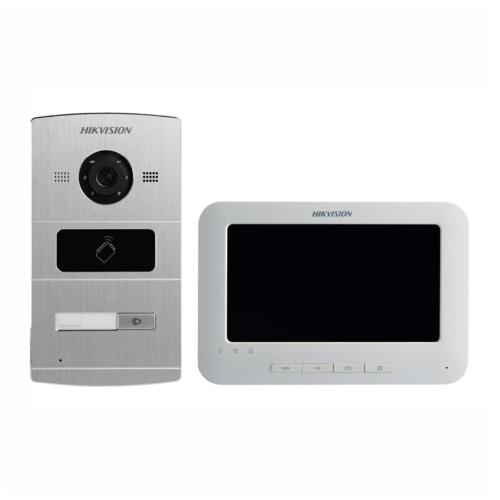 Hikvision DS-KIS601 egylakásos IP videó-kaputelefon szett