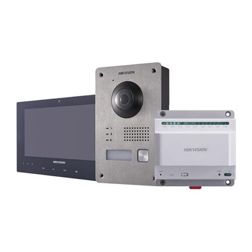 Hikvision DS-KIS701-B 2 vezetékes IP videó-kaputelefon szett