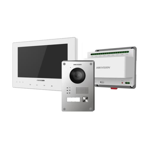 Hikvision DS-KIS701-W  2 vezetékes IP videó-kaputelefon szett