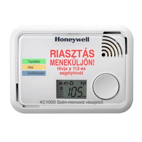 Honeywell XC100D-HU CO érzékelő 10 év garancia (EN50291-1:2010)