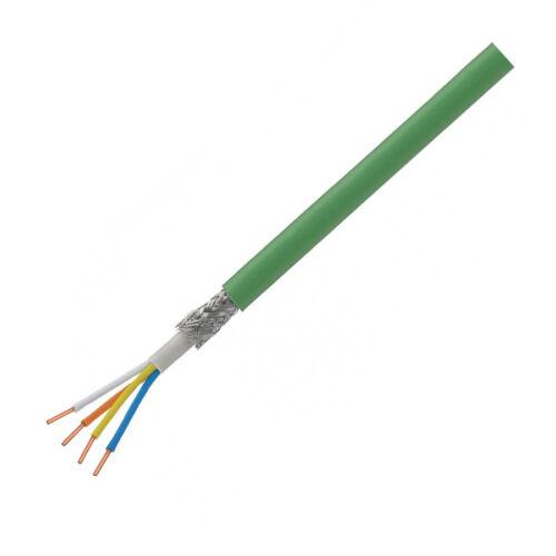 J-Y(St)Y 2x2x0,8 zöld EIB tömör réz erű BUS kábel