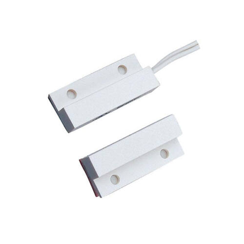 Nyitásérzékelő BS-2011WH felületre szerelhető fehér, oldalsó kábelkivezetéssel