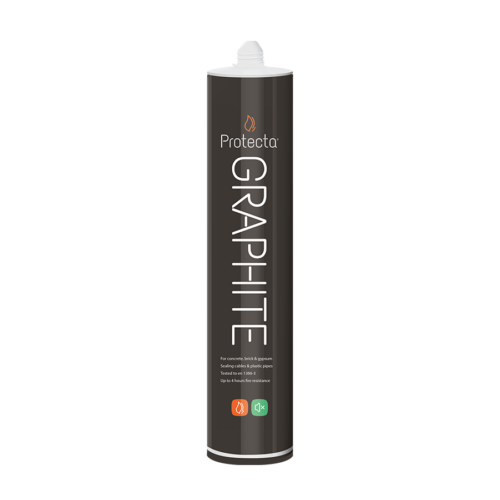 Protecta FR Graphite 310ml Grafit tűzálló tömítőmassza