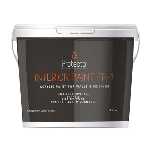 Protecta Interior Paint FR-1 beltéri tűzálló falfesték 10 literes vödörben