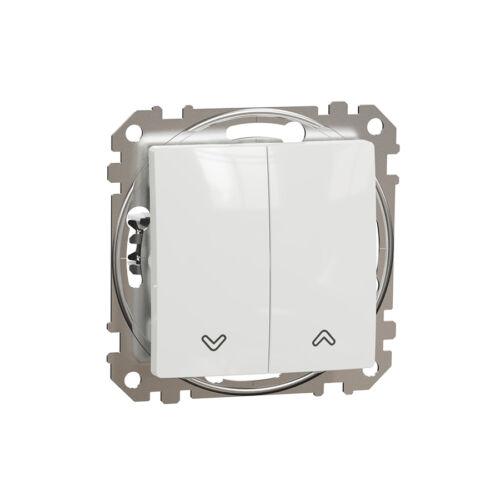 Schneider SDD111104 SEDNA Redőnykapcsoló, rugós bekötés, 10AX, fehér