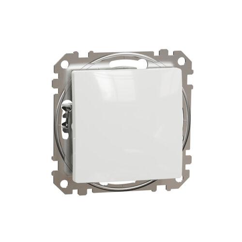 Schneider SDD111106 SEDNA Váltókapcsoló, rugós bekötés, 10AX, (106), fehér