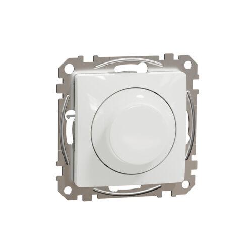 Schneider SDD111502 SEDNA LED fényerőszabályzó, univerzális, 5-200VA, váltóba köthető, fehér