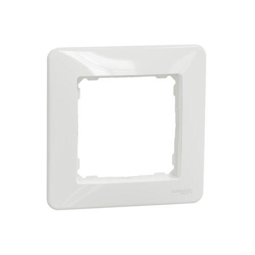 Schneider SDD311801 SEDNA DESIGN Egyes keret, fehér