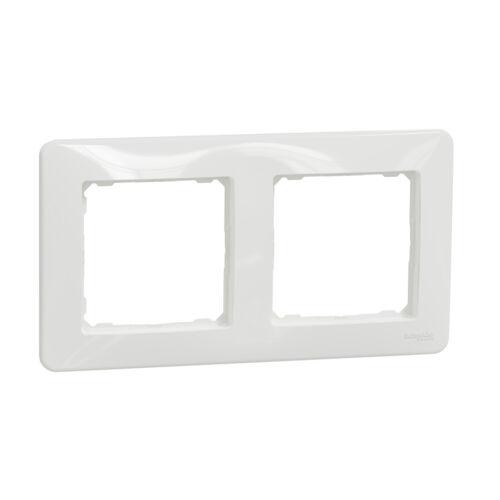 Schneider SDD311802 SEDNA DESIGN Kettes keret, univerzális, fehér