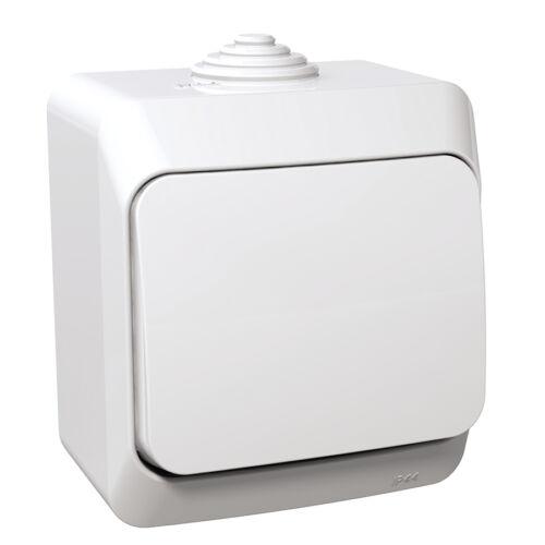 Schneider WDE000560 CEDAR PLUS Váltókapcsoló, IP44, fehér (106)