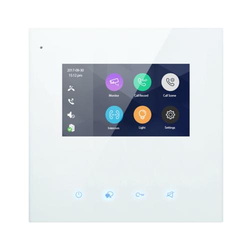 """V-TEK DX439 4,3"""" színes beltéri monitor, WIFI illetve mobil applikáció"""
