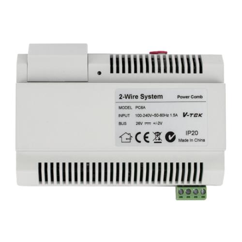 V-TEK PC6 rendszer tápegység