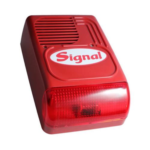 PS128F kültéri hang- és fényjelző tűzjelző rendszerekhez