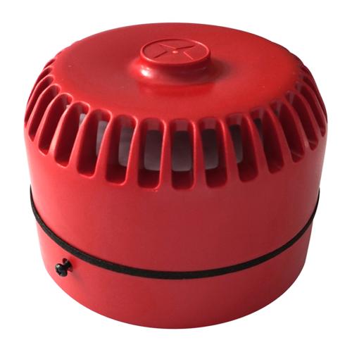 Roshni (Fulleon) hagyományos beltéri hangjelző alacsony aljzattal piros